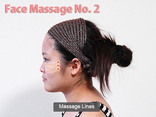 face massage lines