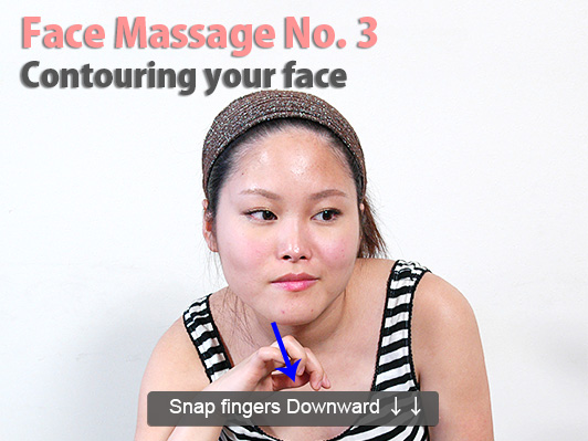 massage snap down