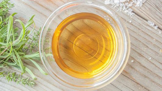 cup of apple cider vinegar