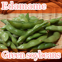 Edamame Japanese green soybeans