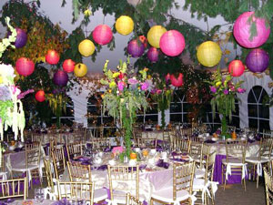 Balloon decorations for party