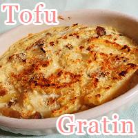 tofu gratin
