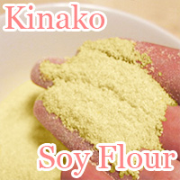 kinako is soy flour