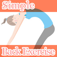 simple back exercise