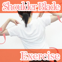 shoulder blade exercise