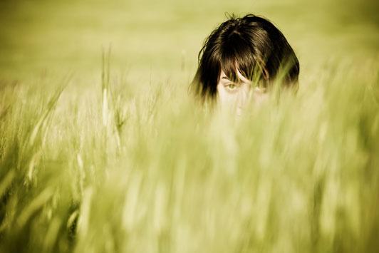 stalking woman