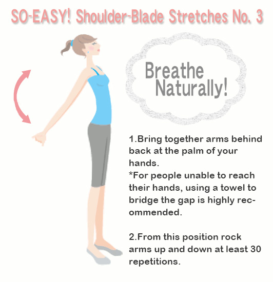 SO-EASY! Shoulder-Blade Stretches No.3