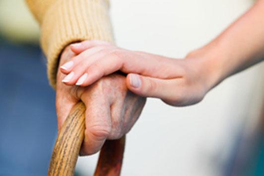 helping hand for elderly