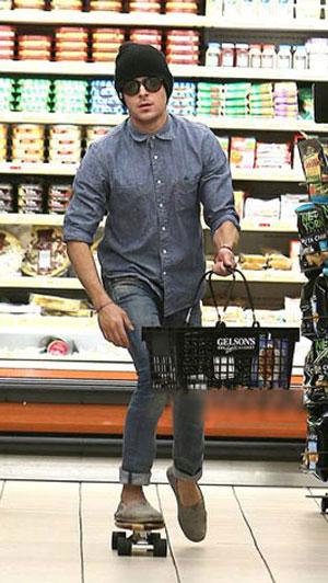 supermarket skateboard guy