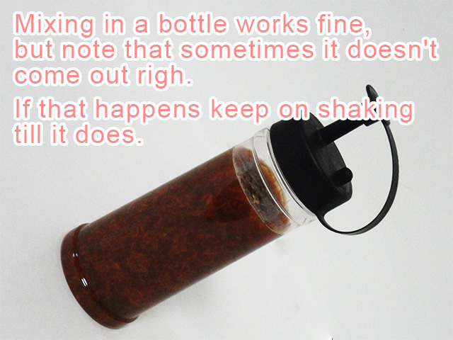 Onion Dressing in bottle