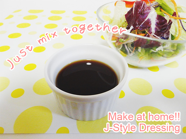 Japanese style dressing complete