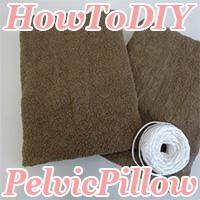 how to diy pelvic pillow