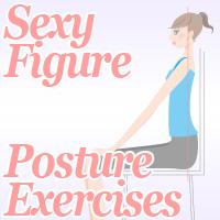 sexy figure posture exercises
