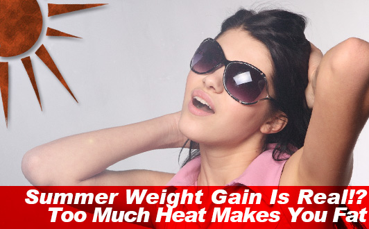 Summer Weight Gain Is Real!? Too Much Heat Makes You Fat