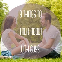 how to talk to a guy who likes you
