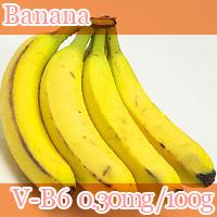 banana vitamin b6 0.3mg