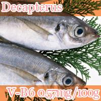 Decapterus vitamin b6 0.57mg