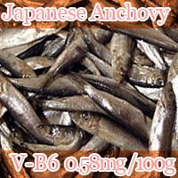 Japanese Anchovy vitamin b6 0.58mg