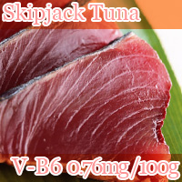 Skipjack Tuna vitamin b6 0.76mg